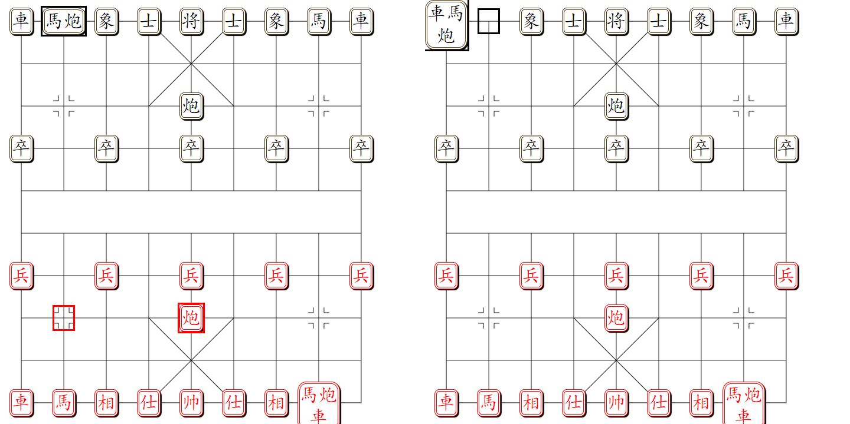 组易象棋-棋子组与棋子-组合示意图